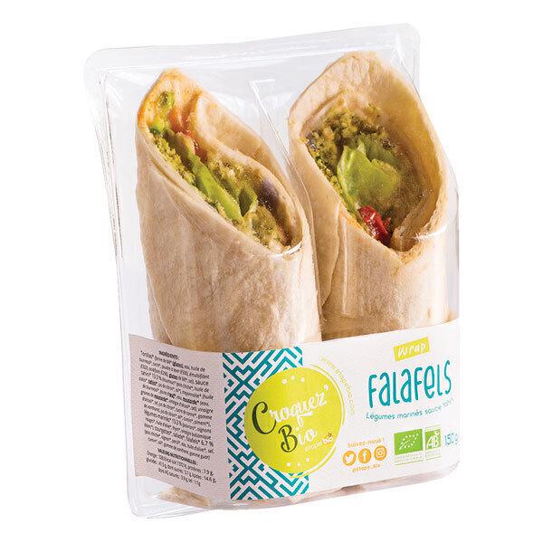 Croquez bio - Wrap falafels 150g