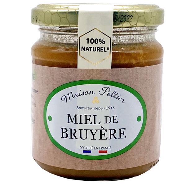 Le Manoir des Abeilles - Miel de Bruyère de France 250G BIO