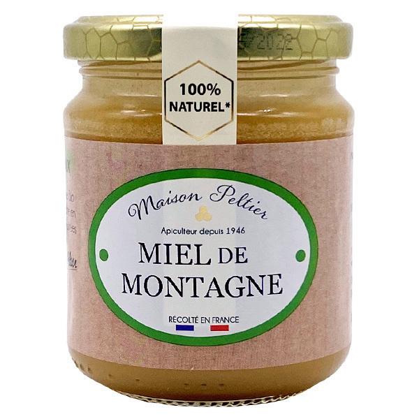 Le Manoir des Abeilles - Miel de Montagne de France 250G BIO