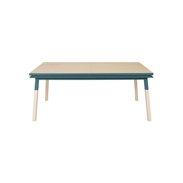 Mon petit meuble français - Table extensible bois massif 120x70 cm