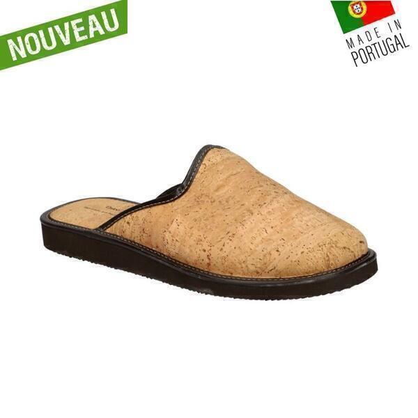OAK Forest - Chaussons en liège naturel - Pantoufle liege Vegan T41
