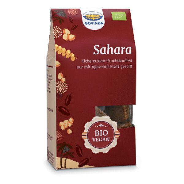 GOVINDA - Bouchées Sahara dattes et pois chiches 100g
