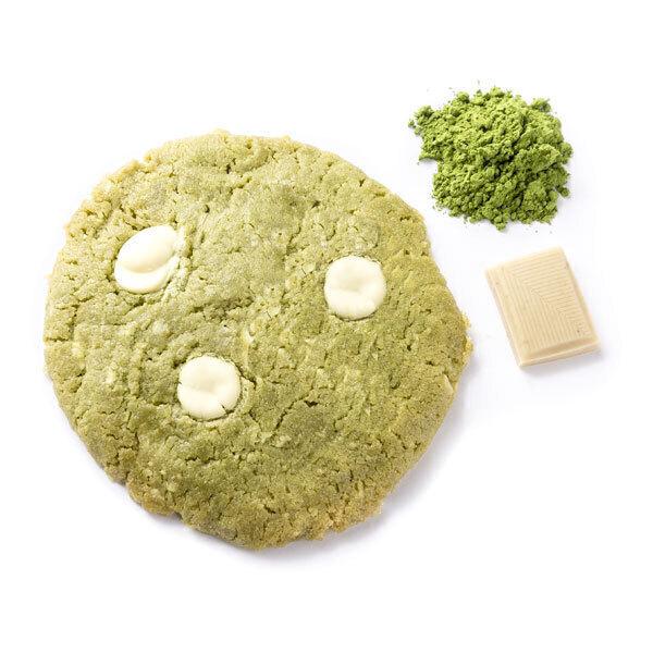 La Fabrique Cookies - Cookie au thé Matcha et au chocolat blanc 75g