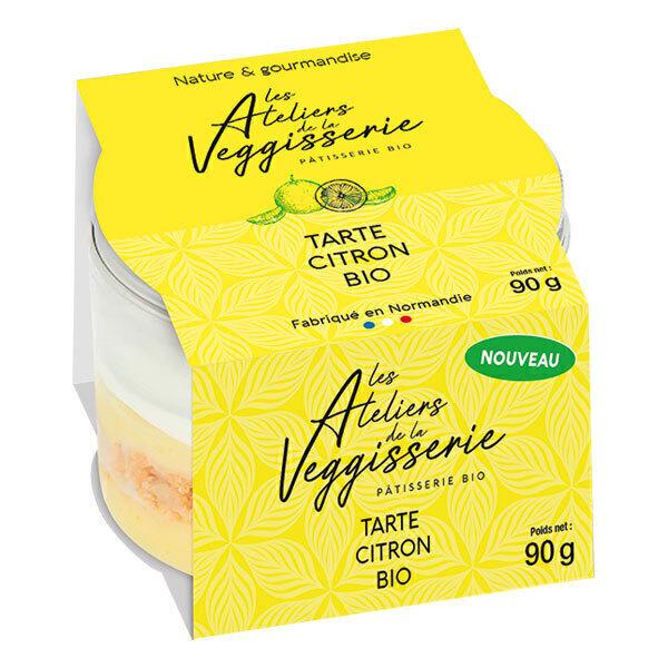 La Veggisserie - Tarte au citron 90g