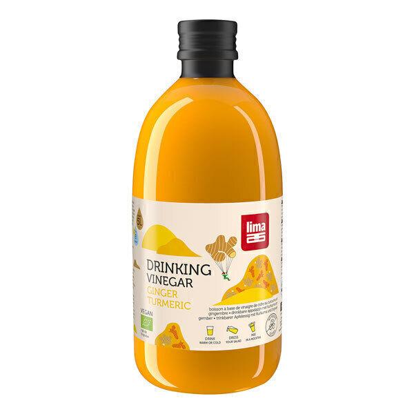 Lima - Vinaigre à boire gingembre & curcuma 50cl