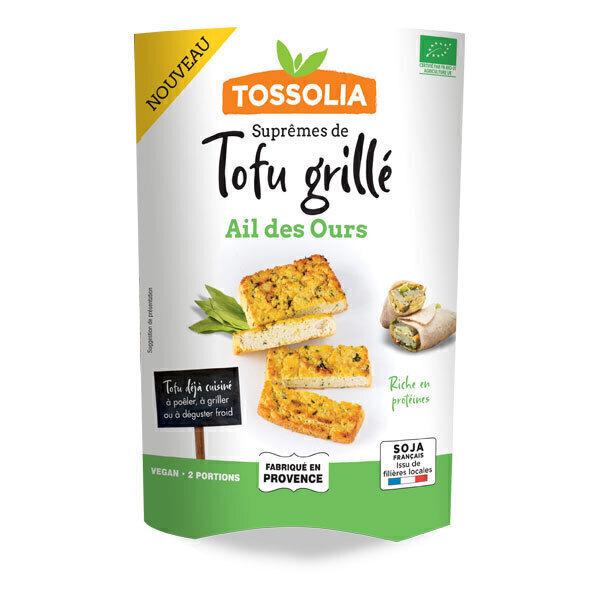 Tossolia - Suprêmes de tofu à l'ail des ours 140g