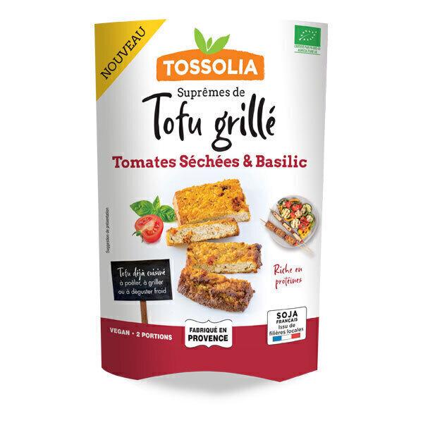 Tossolia - Suprêmes de tofu et tomates séchées 140g
