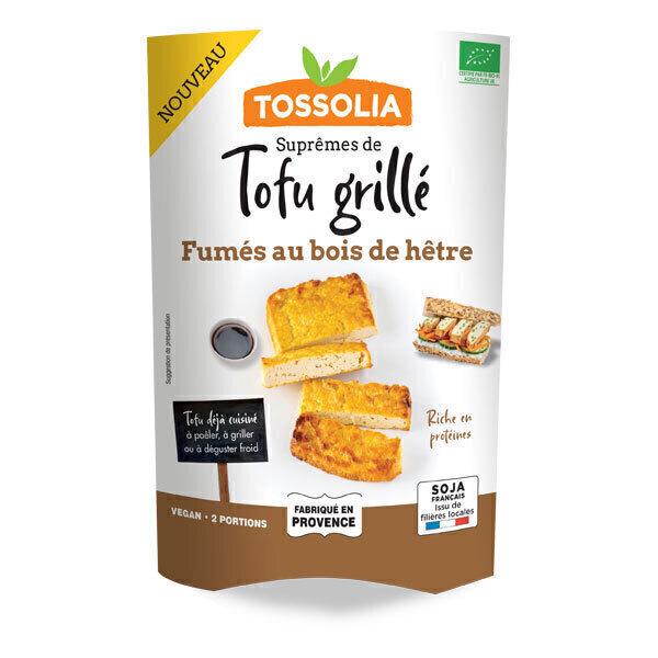 Tossolia - Suprêmes de tofu fumé 140g