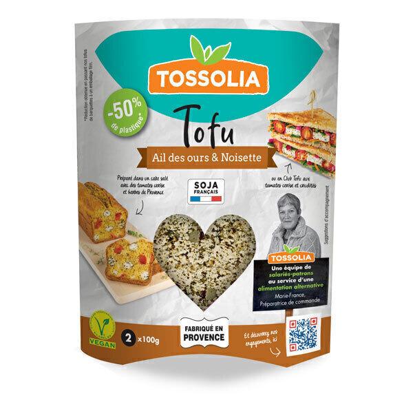 Tossolia - Tofu ail des ours noisette 200g