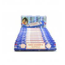 Satya - Encens Nag Champa. Pack économique 12x15gr. environ 140 bâtonnet