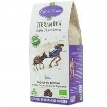 Terramoka - Café Bio en grains Inès - 100% Arabica de Papouasie