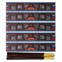 Satya - Encens Super Hit de Satya Saï Baba . Lot de 5 boîtes de 15g, soi