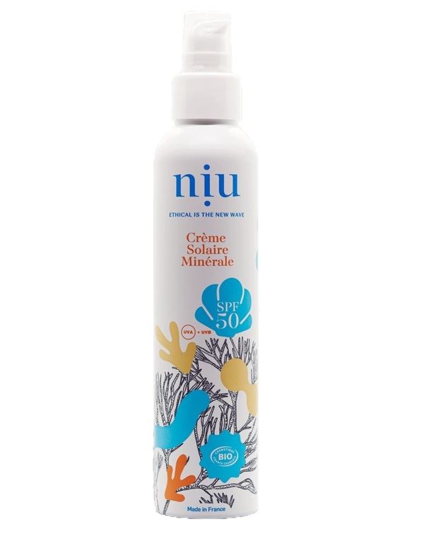 Niu - NIU Crème solaire minérale bio - SPF50 - 100 ml