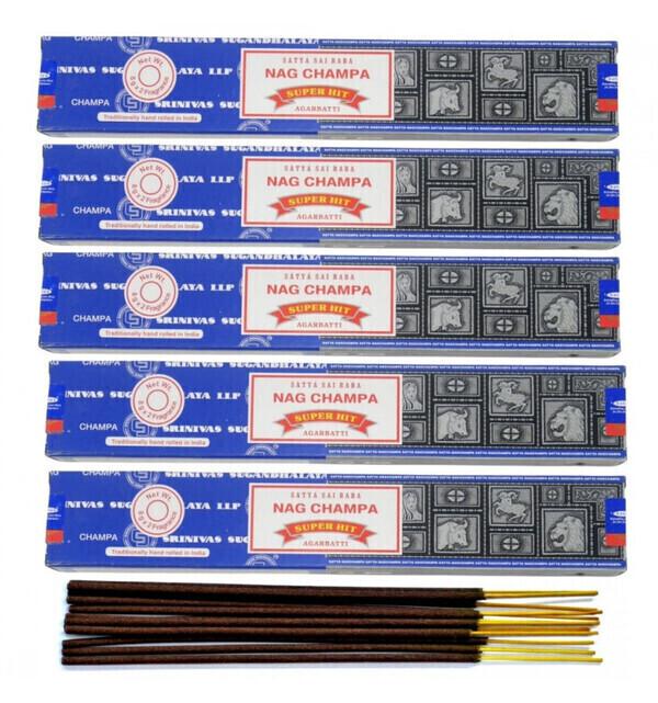 Satya - Encens Satya Nag Champa & Super Hit 5x15gr