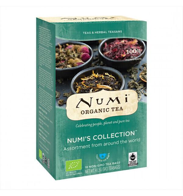 Numi - Assortiment de 9 Thés Bio & Équitables - 18 sachets - Numi tea