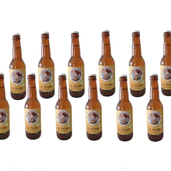 Vinaccus - bière blonde la pilours - 12 bouteilles de 33cl