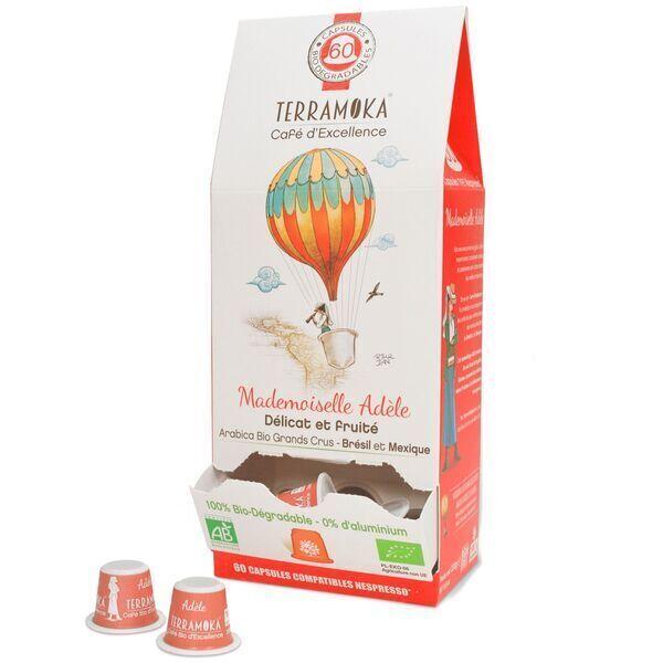 Terramoka - Adèle x60 capsules biodégradables type Nespresso®