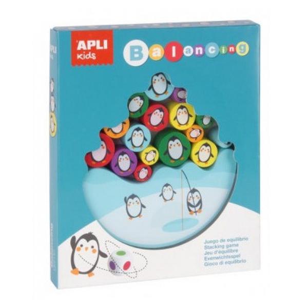 Apli Agipa - Puzzle Equilibre Pingouins