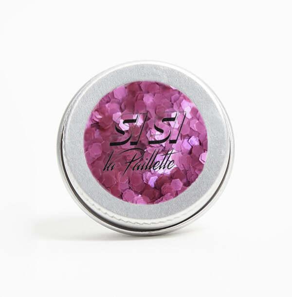 SI SI LA PAILLETTE - Paillette Biodégradable Pure Fuchsia Grosses
