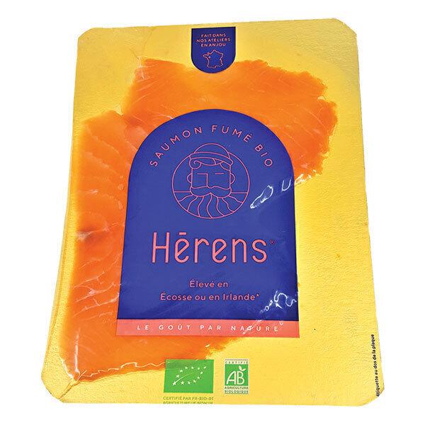 Herens - Saumon fumé 2 tranches bio 80g