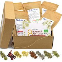 Chabiothé - Coffret infusion DIY BIO - 350g de plantes + livret + filtres