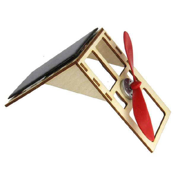 Sol-expert - Kit mini ventilateur solaire sur support bois