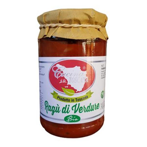 Saveurs de Tosca - Sauce Tomate de légumes Bio, végan - 340 gr 100% ragù Italien