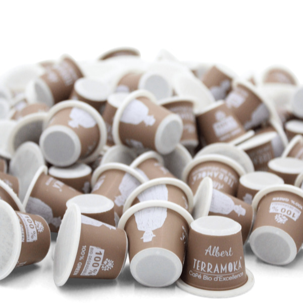 Terramoka - Albert VRAC X300 CAPSULES Biodégradable type Nespresso®