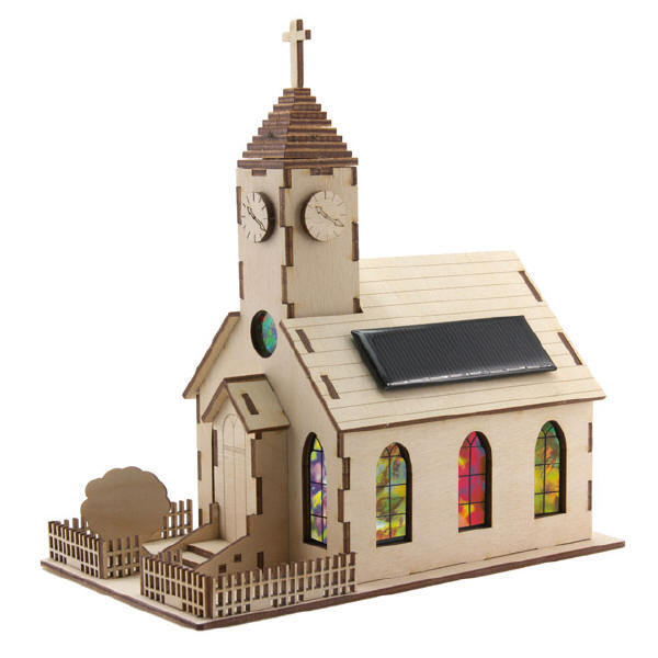Sol-expert - Kit église solaire en bois