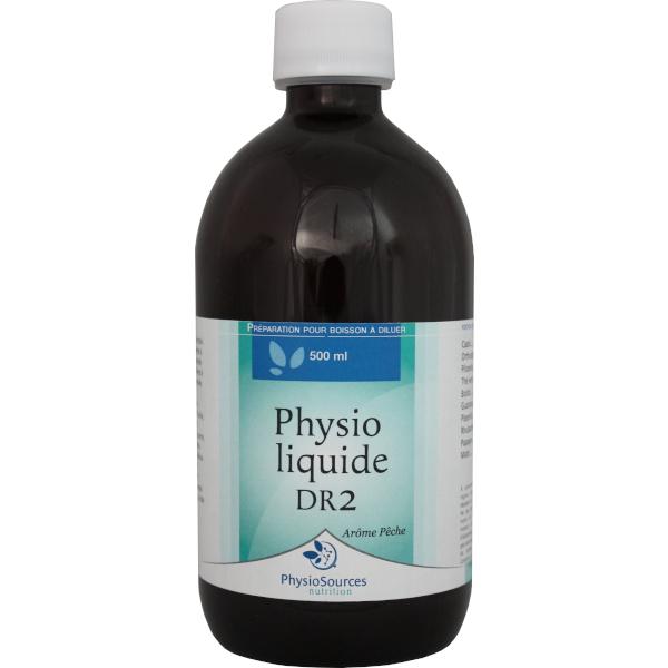 Physio Sources - PHYSIO LIQUIDE N°2  500 ml goût pêche