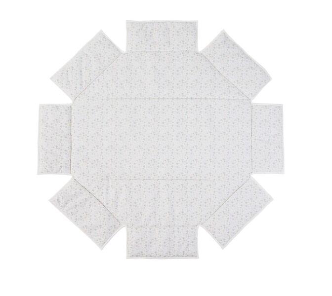 Geuther - Tour de parc avec tapis Octo-Parc 104 x 101 cm imprimé clair