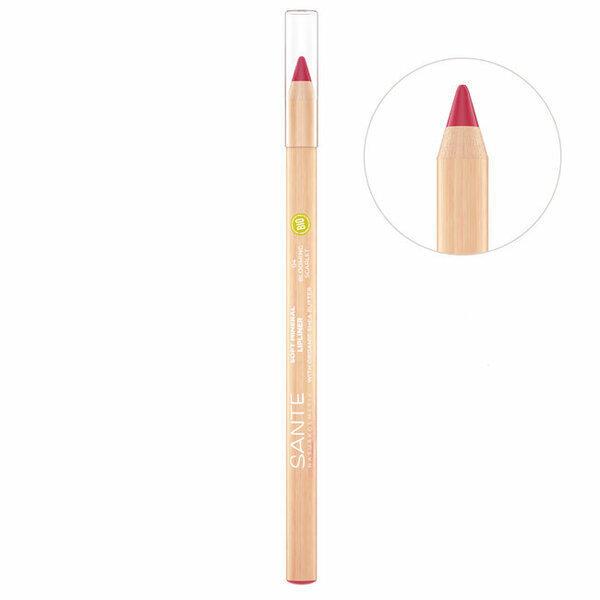 Sante Naturkosmetik - Crayon Contour des lèvres n°4 Blooming Scarlet - 1,14g