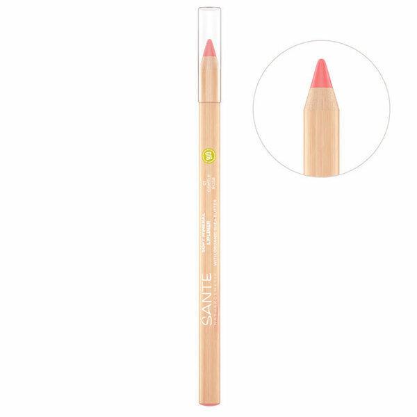 Sante Naturkosmetik - Crayon Contour des lèvres n°1 Gentle Rose - 1,14g