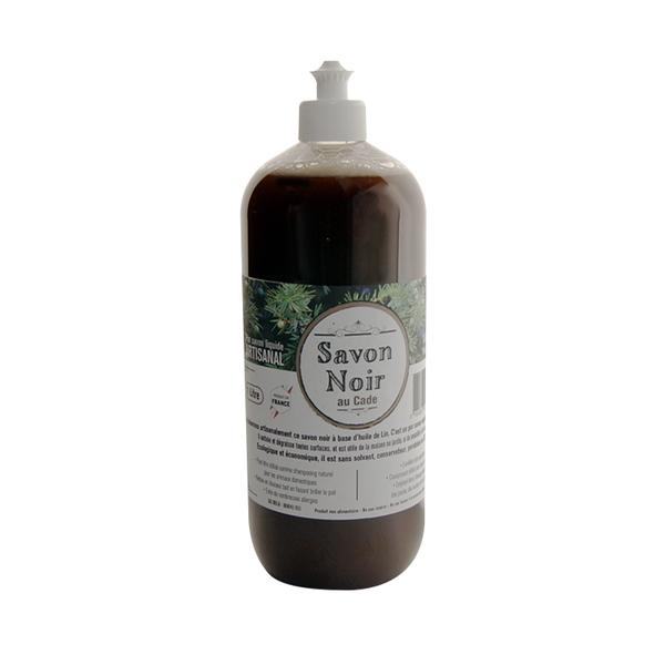 Le Cambrousard - Savon noir liquide Artisnal aromatisé au Cade 1L