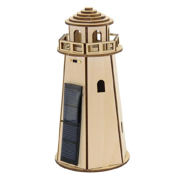 Sol-expert - Kit phare solaire en bois
