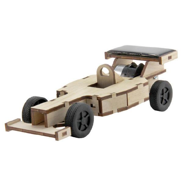 Sol-expert - Kit voiture Formule 1 solaire en bois
