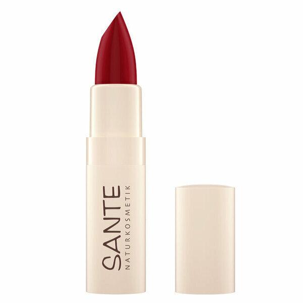 Sante Naturkosmetik - Rouge à Lèvres Hydratant n°7 Fierce Red 4,5g
