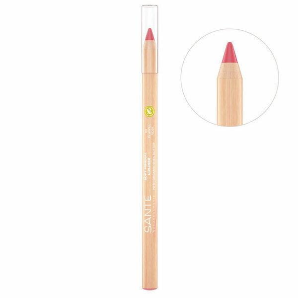 Sante Naturkosmetik - Crayon Contour des lèvres n°3 Playful Rose - 1,14g