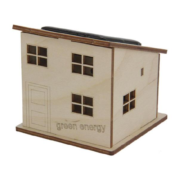 Sol-expert - Kit petite maison solaire en bois