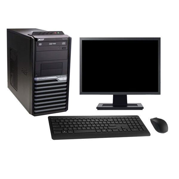"Acer - Acer M2610G 19"" Intel i5-2400 RAM 4Go HDD 500Go W10 - comme neuf"