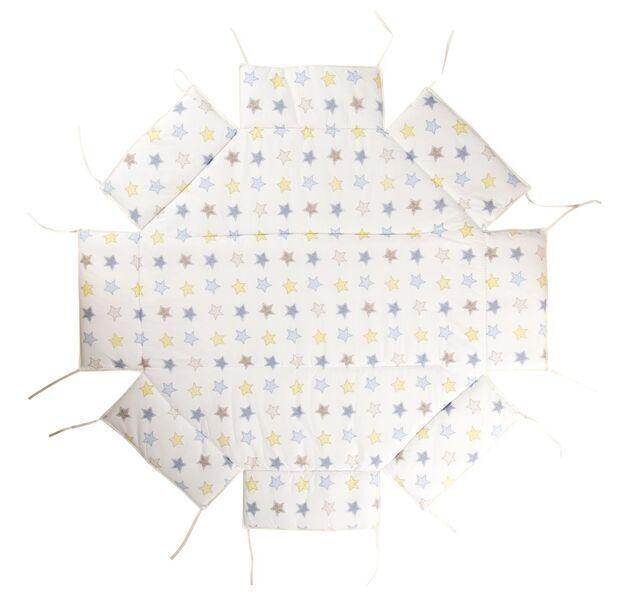 Geuther - Tour de parc avec tapis pour Octo-Parc 104 x 101 cm étoiles