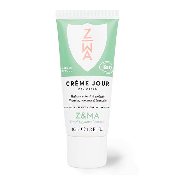 Z&MA - Crème de Jour bio 40ml - Hydrate, adoucit & matifie