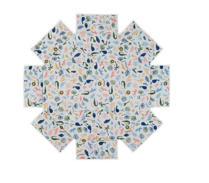 Geuther - Tour de parc avec tapis pour Octo-Parc 104 x 101 cm imprimé