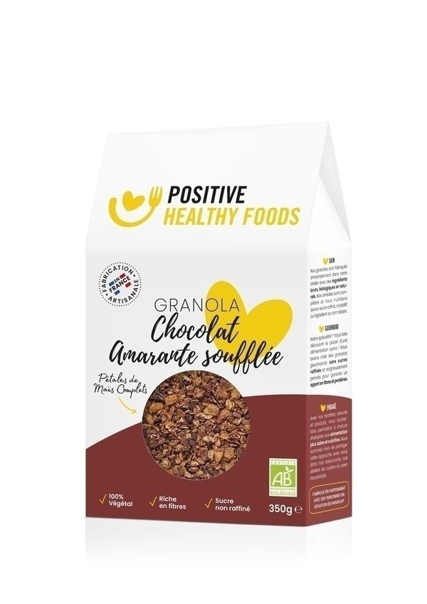 Positive Healthy Foods - Granola Chocolat Amarante soufflée