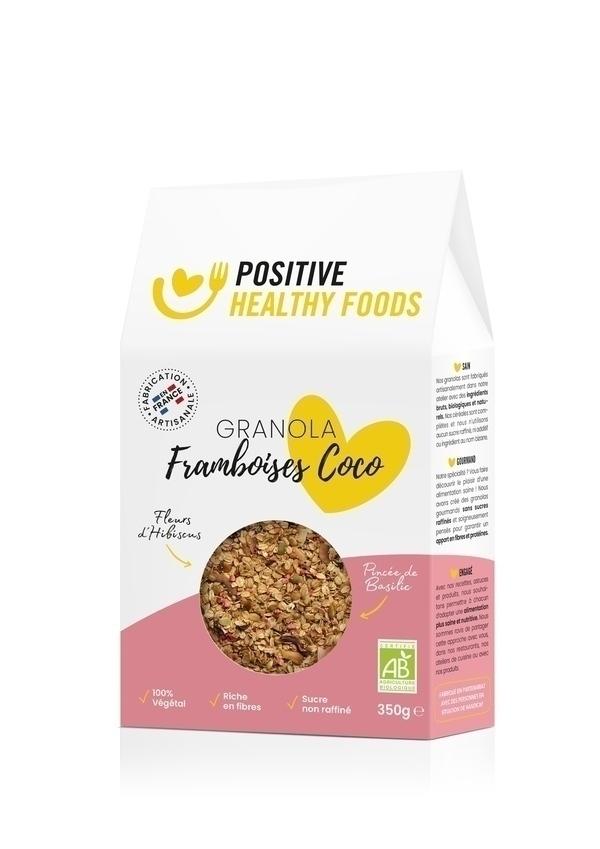 Positive Healthy Foods - Granola Framboises Coco