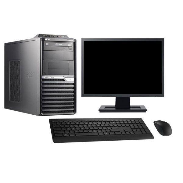 "Acer - Acer M2610G 19"" Intel i7-2600 RAM 4Go HDD 250Go W10 - comme neuf"