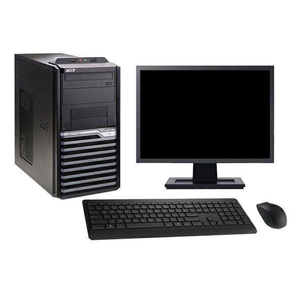 "Acer - Acer M4630G 19"" Intel i7-4790 RAM 4Go SSD 120Go W10 - comme neuf"