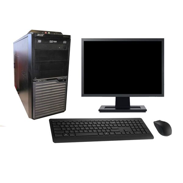 "Acer - Acer M2630G 19"" Intel i7-4790 RAM 4Go HDD 500Go W10 - comme neuf"