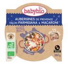 Babybio - Assiette, Bonne Nuit Pâtes à l'italienne, 260g, dès 15 mois