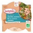 Babybio - Assiette Légumes Saumon Dès 15 Mois 260g